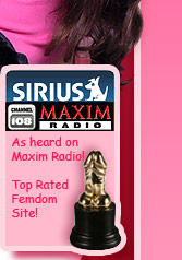 HPOV Financial Domination and small penis humiliation on Sirius Maxim Radio