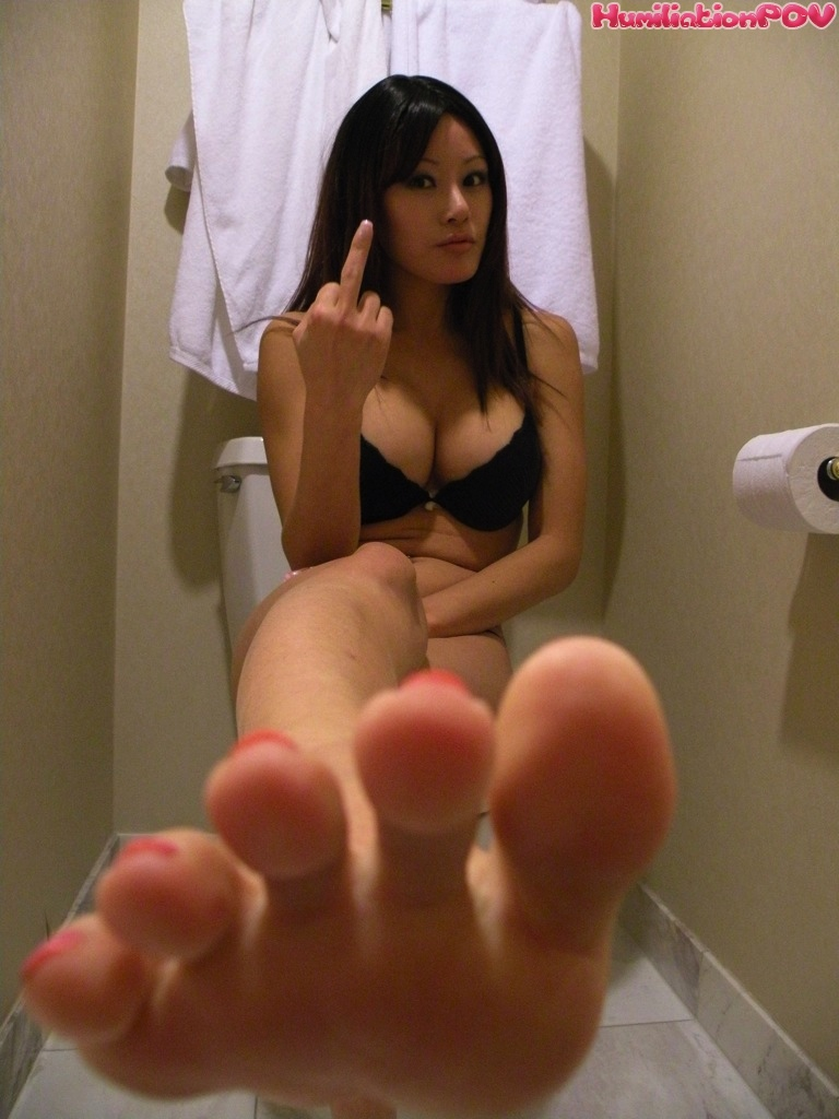 Asian Girl First White Dick